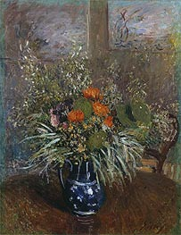 Alfred Sisley | Still Life of Wild Flowers, 1875 | Giclée Canvas Print