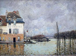 Alfred Sisley | The Flood at Port-Marly, 1876 | Giclée Canvas Print