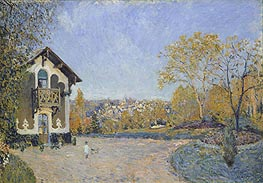 Alfred Sisley | View of Marly-le-Roi from Coeur-Volant | Giclée Canvas Print