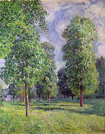 Alfred Sisley | Landscape at Sevres, 1878 | Giclée Canvas Print