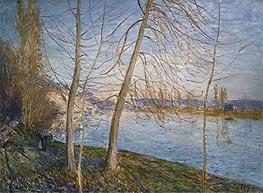 Alfred Sisley | Winter Morning - Veneux, 1878 | Giclée Canvas Print