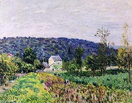 Alfred Sisley | Autumn Evening on the Outskirts of Paris, 1879 | Giclée Canvas Print