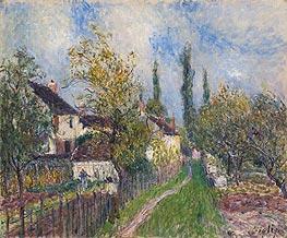 Alfred Sisley | Path at Sablons, 1883 | Giclée Canvas Print
