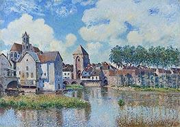 Alfred Sisley   Moret-sur-Loing, 1891   Giclée Canvas Print