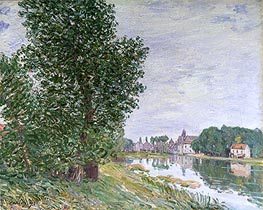 Alfred Sisley | At Moret-sur-Loing, 1892 | Giclée Canvas Print