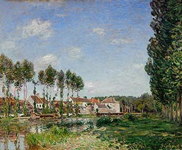 Alfred Sisley | Moret, Banks of the Loing, 1892 | Giclée Canvas Print