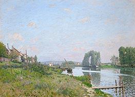Alfred Sisley   L'Isle Saint-Denis, 1872   Giclée Canvas Print