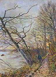 Alfred Sisley   Le Bois des Roches, Veneux-Nadon, 1880   Giclée Canvas Print
