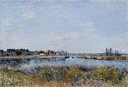 Alfred Sisley | Saint-Mammès: Morning, 1881 | Giclée Canvas Print