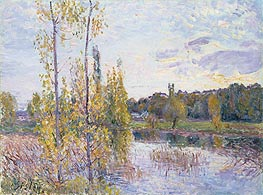 Alfred Sisley | The Lake at Chevreuil, 1888 | Giclée Canvas Print