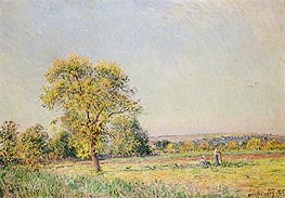 Alfred Sisley | A Summer's Day, 1886 | Giclée Canvas Print