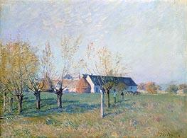 Alfred Sisley   The Farm, 1874   Giclée Canvas Print