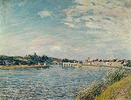 Alfred Sisley   Landscape at Saint-Mammes, 1888   Giclée Canvas Print