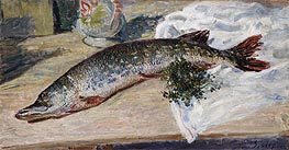 The Pike, 1888 by Alfred Sisley | Giclée Canvas Print