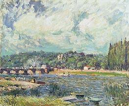 Alfred Sisley   The Bridge at Sevres, c.1877   Giclée Canvas Print