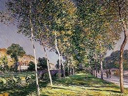 Alfred Sisley | The Walk, 1890 | Giclée Canvas Print