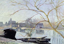Alfred Sisley | Le Loing-gelee Blanche, 1889 | Giclée Canvas Print