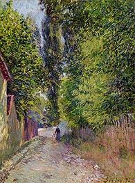 Alfred Sisley | Landscape near Louveciennes, 1876 | Giclée Canvas Print
