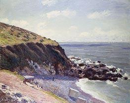 Alfred Sisley | Lady's Cove, Langland Bay, 1897 | Giclée Canvas Print