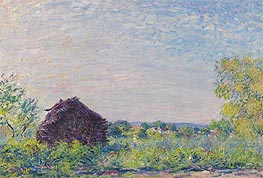 Alfred Sisley | The Haystack, 1877 | Giclée Canvas Print