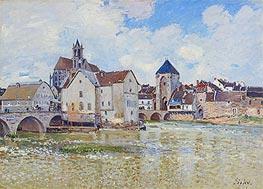 Alfred Sisley | The Bridge at Moret, 1888 | Giclée Canvas Print