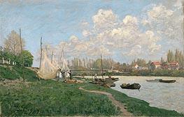 Alfred Sisley | Drying Nets - Villeneuve-la-Garenne, 1872 | Giclée Canvas Print