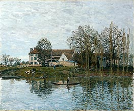 Alfred Sisley | The Seine at Port-Marly, 1875 | Giclée Canvas Print
