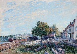 Alfred Sisley | Saint Mammès - Morning, 1884 | Giclée Canvas Print