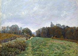 Alfred Sisley | Landscape at Louveciennes, 1873 | Giclée Canvas Print