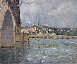Alfred Sisley | The Bridge of St. Cloud, 1877 | Giclée Canvas Print