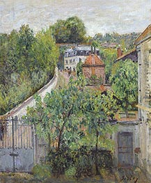 Alfred Sisley | View of Sèvres, c.1879 | Giclée Canvas Print