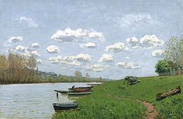 Alfred Sisley | The Seine at Argenteuil | Giclée Canvas Print