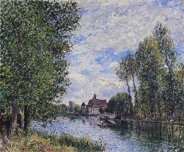 Alfred Sisley | Summer at Moret | Giclée Canvas Print