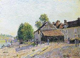 Alfred Sisley | Landscape near Moret | Giclée Canvas Print