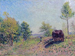 Alfred Sisley | Woods in Spring, 1886 | Giclée Canvas Print
