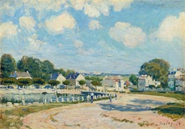Alfred Sisley | Watering Place at Marly | Giclée Canvas Print
