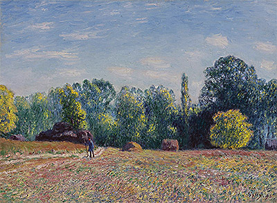 Edge of Forest, 1895 | Alfred Sisley | Painting Reproduction