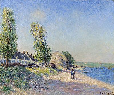 Saint-Mammès Morning, 1885 | Alfred Sisley | Painting Reproduction