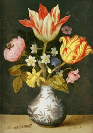 Ambrosius Bosschaert | Still Life with a Wan'li Vase of Flowers, Undated | Giclée Canvas Print