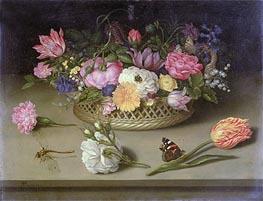 Ambrosius Bosschaert | Flower Still Life | Giclée Canvas Print