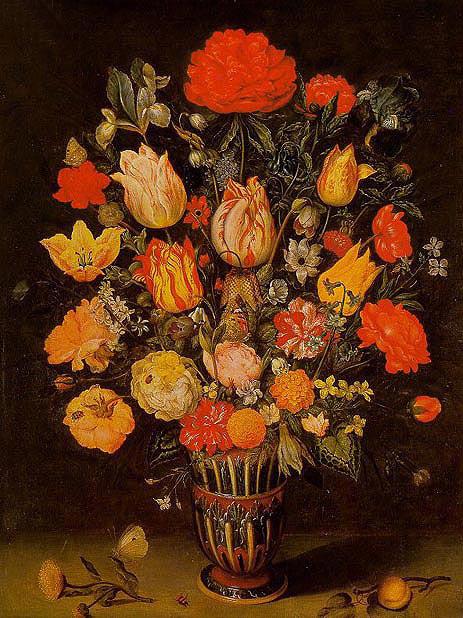 Still Life of Flowers, undated | Ambrosius Bosschaert | Painting Reproduction
