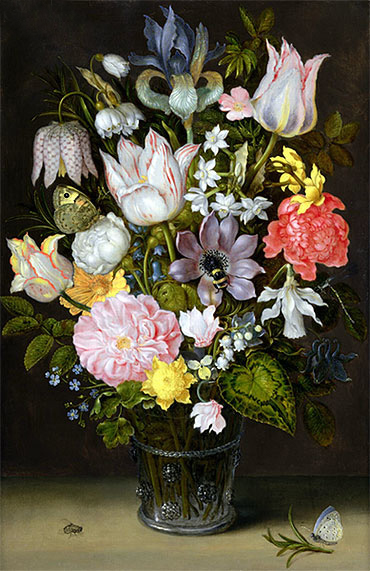 Still Life with Flowers, undated | Ambrosius Bosschaert | Painting Reproduction