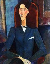 Portrait of Jean Cocteau, 1916 by Modigliani | Giclée Canvas Print