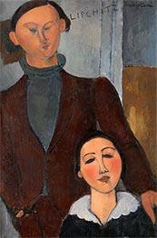 Jacques and Berthe Lipchitz, 1916 by Modigliani   Giclée Canvas Print
