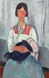 Modigliani | Gypsy Woman with Baby | Giclée Canvas Print