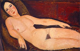 Nude on a Divan, 1918 by Modigliani | Giclée Canvas Print