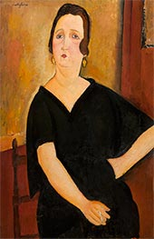 Modigliani | Madame Amédée (Woman with Cigarette) | Giclée Canvas Print