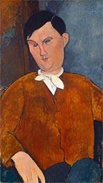 Modigliani | Monsieur Deleu | Giclée Canvas Print