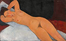 Nude, 1917 by Modigliani | Giclée Canvas Print