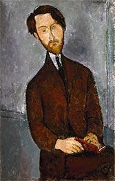 Léopold Zborowski, c.1916 by Modigliani   Giclée Canvas Print